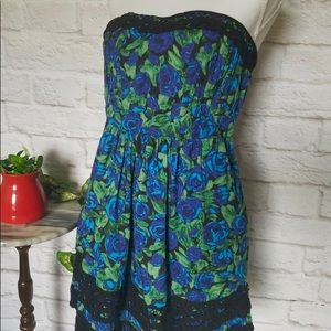 Urban Outfitters Kimchi Blue Floral Dress 0